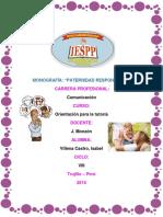 Monografia Paternidad Responsable