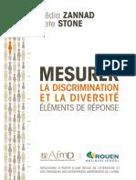 Mesurer La Discrimination
