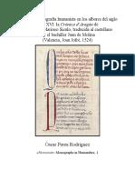 Crónica d'Aragón de Lucio Marineo Sículo