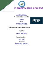 Tarea v Gestion Humana Carmelina Medina