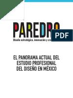 Paredro Panorama Del Diseno en Mexico