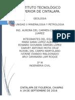Unidad II Mineralogia y Petrologia