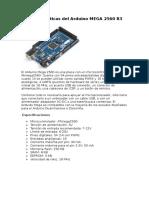 Características-ArduinoMega2560