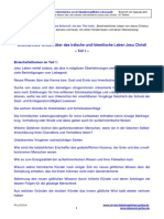 Unbekanntes Wissen ueber das irdische und himmlische Leben Jesu Christi - Teil 1 - 47 Seiten.pdf