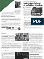Rechazar el Aprender 2016 - Por la Evaluación Social de las Políticas Educativas