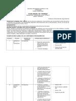 Formato Plan Anual de Trabajo 2015-2016 Ejemplo