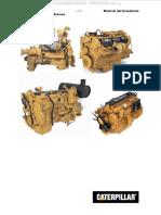 Manual Motores Diesel Caterpillar Funcionamiento Combustion Componentes Conjunto Bloque Culata Tren Engranajes