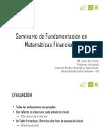 Seminario Matemática Financiera (1)