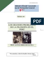 Problemas de La Filosofia en El Peru