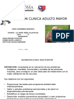 Valoracion Clinica Adulto Mayor Juana