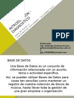 Introducción - Base de Datos II