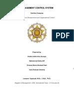 Vershire Case Analysis - MCS
