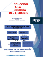 Introducción a La Fisiologia