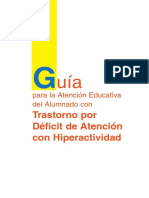 Guia Atencion Educativa TDAH