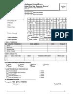 Form Pendaftaran Santri Baru Mahad Ummul Qurro 2