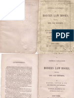 Modern Law Books