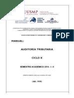 Manual - Auditoría Tributaria 2014 - i - II