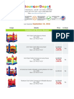 Bouncer Depot Catalog