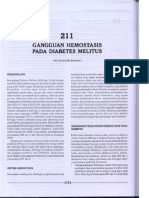 Gangguan Hemostasis Pada Diabetes Melitus