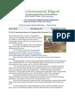 Pa Environment Digest Sept. 19, 2016