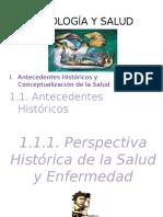 TEMA 1 Antecedentes y Conceptualización de La Salud
