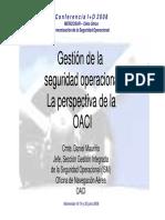 Gestion de La SO Desde El Punto de Vista de La OACI-Daniel Maurino 38639