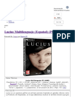 Lucius Multilenguaje (Español) (PC-GAME) - IntercambiosVirtuales
