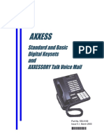 Inter-Tel AXXESS Phone System Users Guide