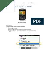 Correo Conf. BlackBerry Imap