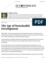 """the Age of Sustainable Development by Jeffrey D_ Sachs - Project Syndicate"""