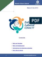 EnlaceLaboral DisciplinaTecnologia Marzo 2014 032014