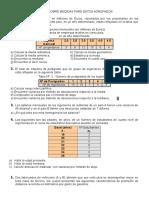 Taller Sobre Medidas Para Datos Agrupados