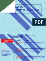 Pelayanan Operasional Bongkar Muat Barang di Terminal Pelabuhan