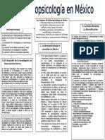 Neuropsicología en México