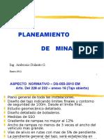 Plan de Minado
