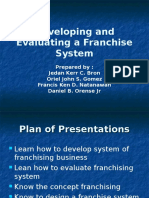 Franchising Powerpoint
