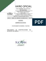 Yucatan Reglamento Construccion Municipal Merida