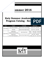 2016 KSAT - Secondary Catalog