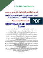DEVRY CIS 115 Final Exam 1.doc