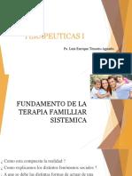 Fundamento de La Terapia Familliar Sistemica