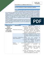 MAT - Planificación Unidad 4 - 2do Grado v2