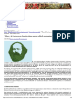 """""""Marx y La Fractura en El Metabolismo Universal de La Naturaleza""""_ John Bellamy Foster"""