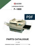 Kyocera+F-1800+Parts+Manual