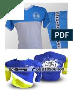 Gambar Contoh Desain Kaos Olahraga