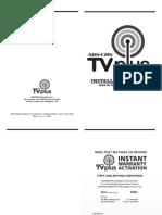 ABSCBN TVPLUS Installation Guide