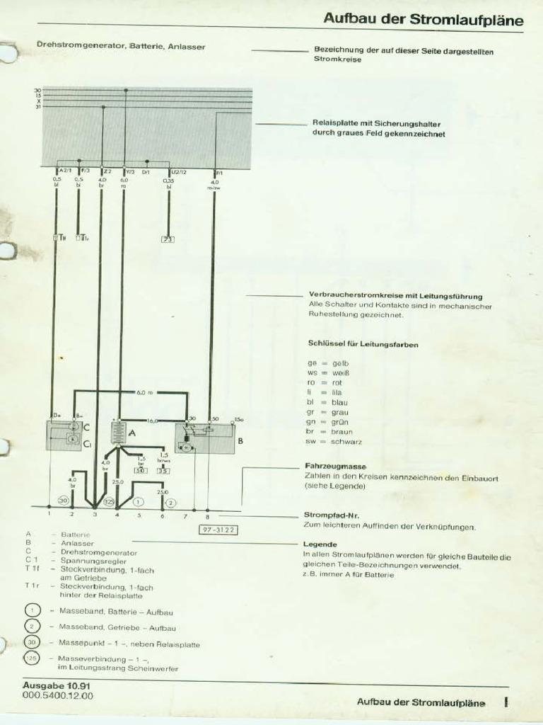 Golf 3 Tdi Stromlaufplan