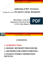 Blagov D. Seismic Strengthening of RC Structures Using PED Devices