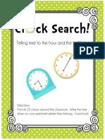 ClockSearchTellingtimetothehourandthehalfhour.pdf
