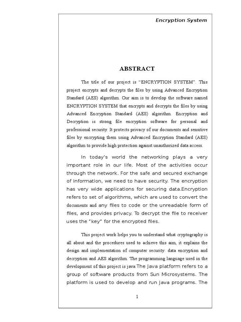 Advanced_Encryption_System docx | Object (Computer Science