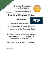 Reporte Dimmer motor.docx
